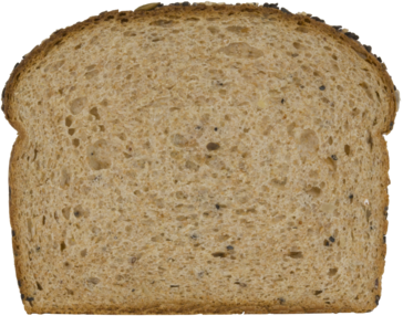 22 Grains & Seeds Bread Slice Image