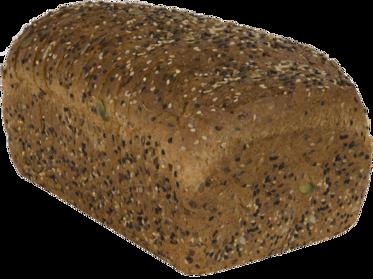 22 Grains & Seeds Naked Bread Loaf Image