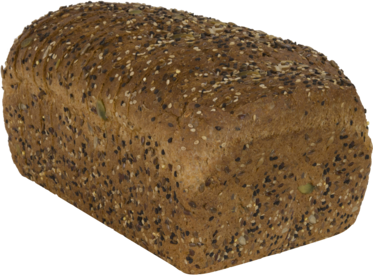 22 Grains & Seeds Naked Bread Loaf Image