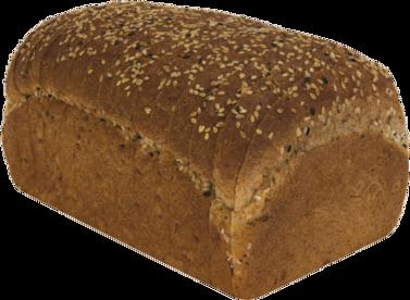 Healthy Multi-grain Naked Bread Loaf Image