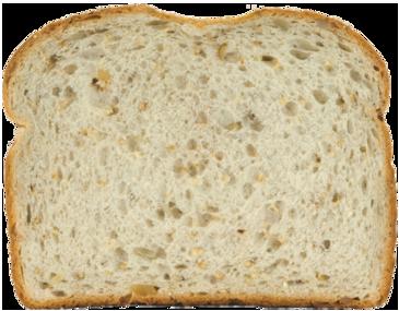 Honey Nut Bread Slice Image