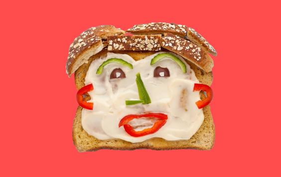 Bread face
