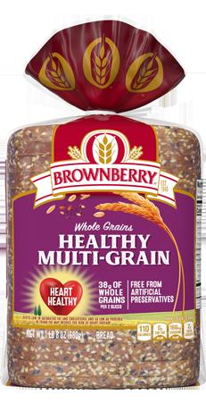Brownberry Healthy Multi-Grain Bread 24oz Packaging