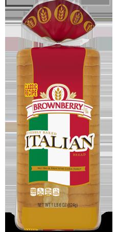 Brownberry Italian 22oz Bread Packaging