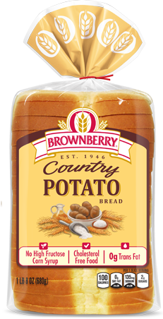 Brownberry Country Potato Bread Package Image