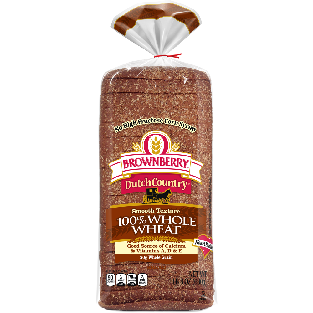 Brownberry Dutch Country 100% Whole Wheat Package Image