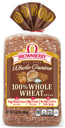 Arnold 100% Whole Wheat Bread Package Image