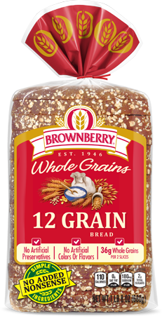 Brownberry 12 Grain Bread Package Image