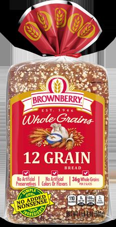 Brownberry 12 Grain Bread Package Image