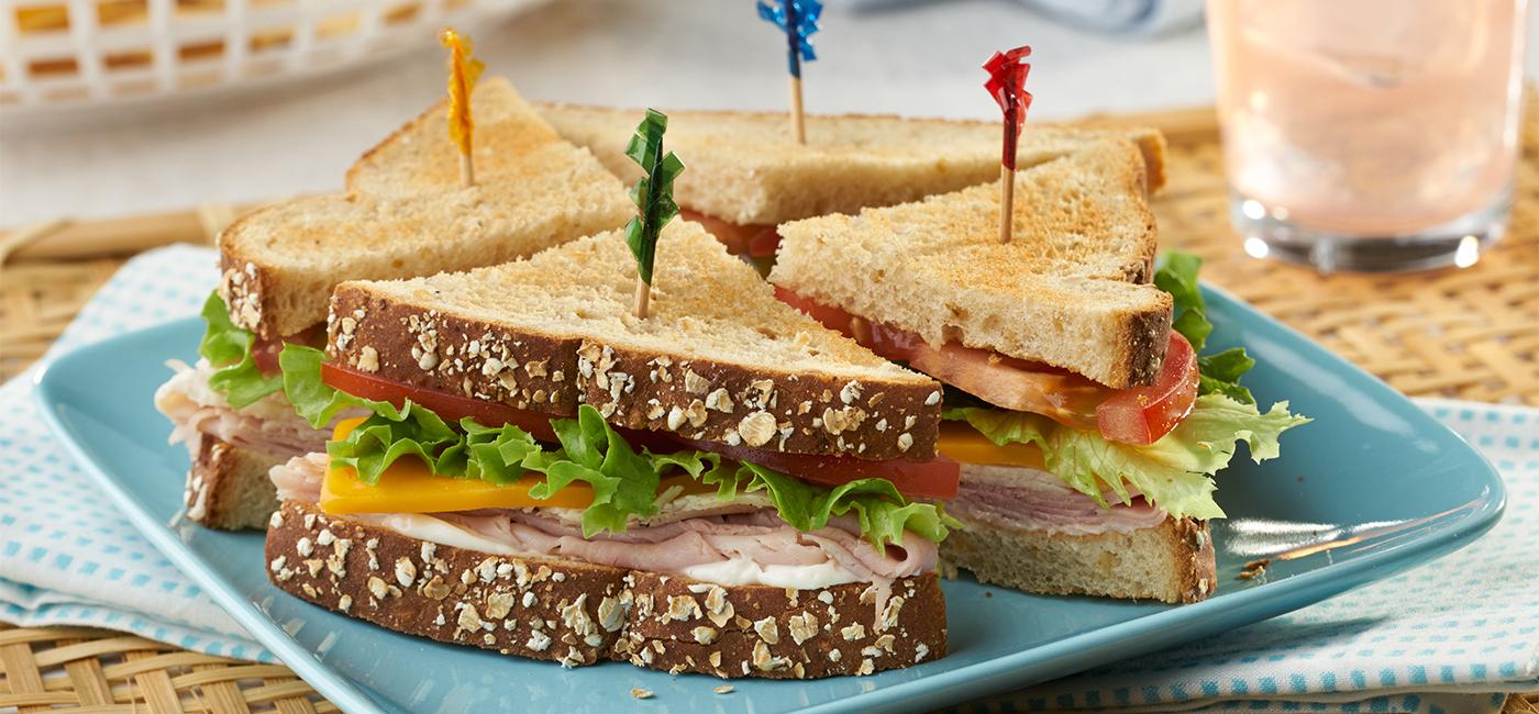 Mini Club Combo Sandwiches - Recipe Image