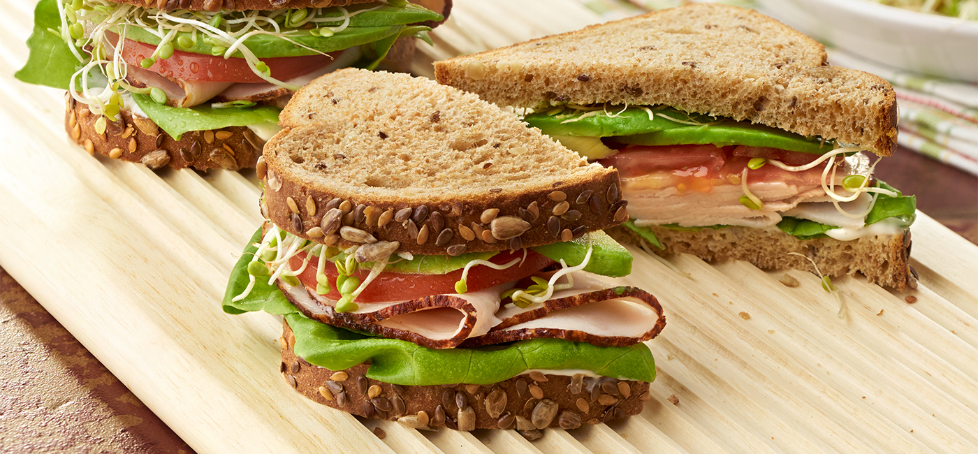 Ranch Turkey & Avocado Sandwich - Recipe Image