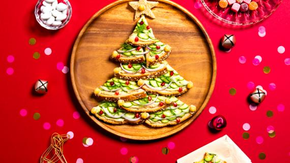 Holiday Toast Tree Recipe Image
